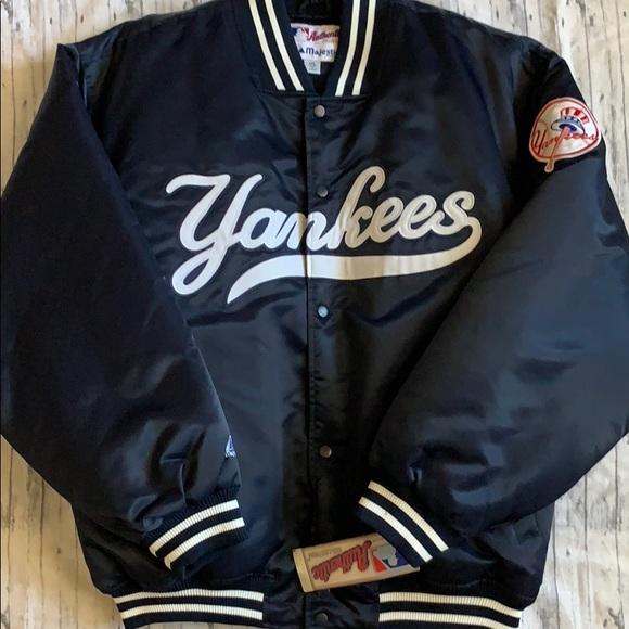 Vintage New York Yankee/'s baseball Lee Sport  Bomber Jacket Size XL